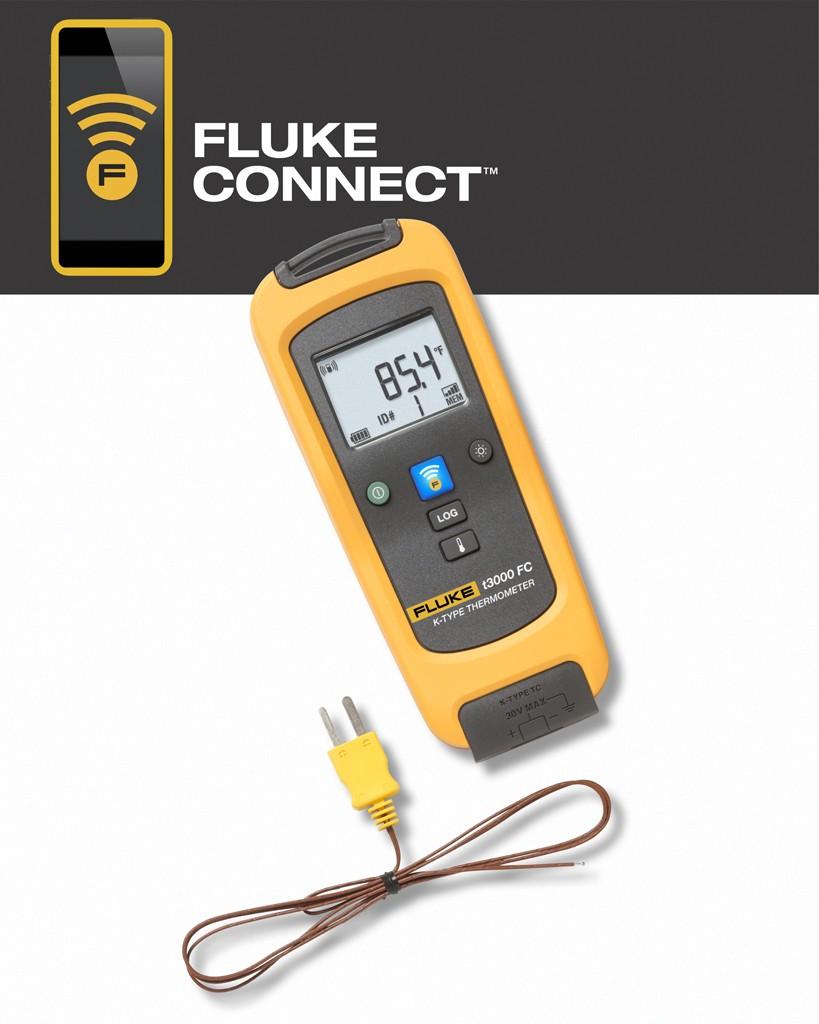 Fluke t3000 FC wireless temperatuurmodule type K