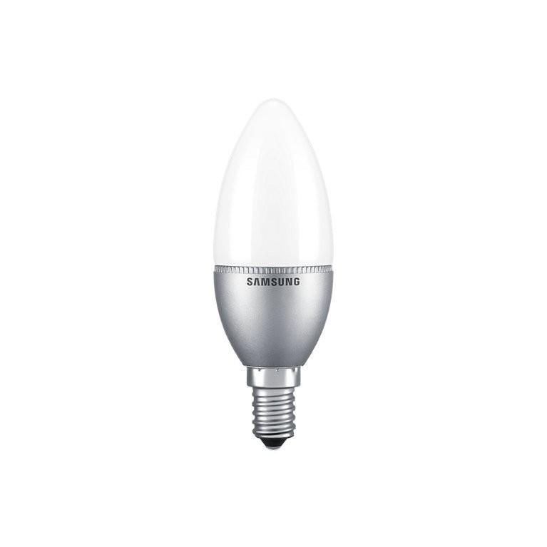 Samsung LED kaars E14 5,5W 470lm Warm wit 2700K