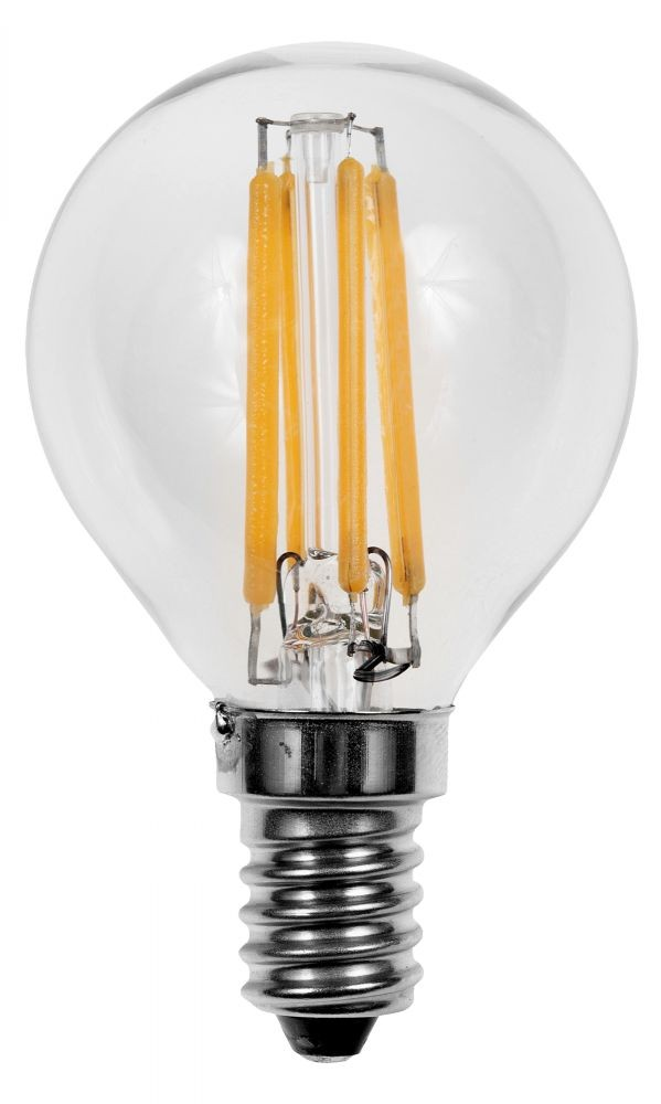 LED filament lamp E14 4W warm wit (vervangt 40W)