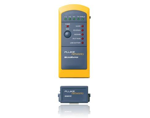 MicroMapper netwerkkabel tester