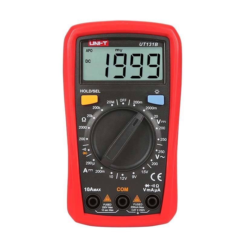 Handheld Digitale multimeter - Manual range - basismodel
