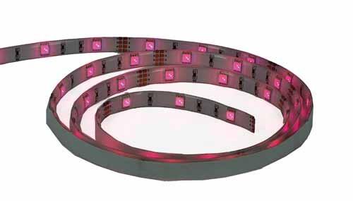 Flexibele ledstrip IP44 - RGB - 30 LEDs - 1 meter