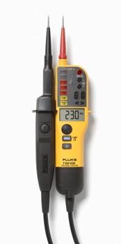 T- Voltage/Continuity Tester met LCD, ohm-meting en schakelbare belasting