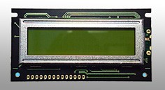 LCD 2x16characters no backligh alfanumerische module