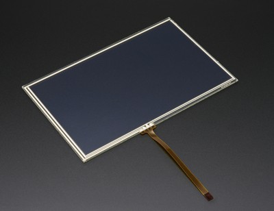 """Resistive Touchscreen Overlay - 7"""" diagonal 165mm x 105mm - 4 wire"""