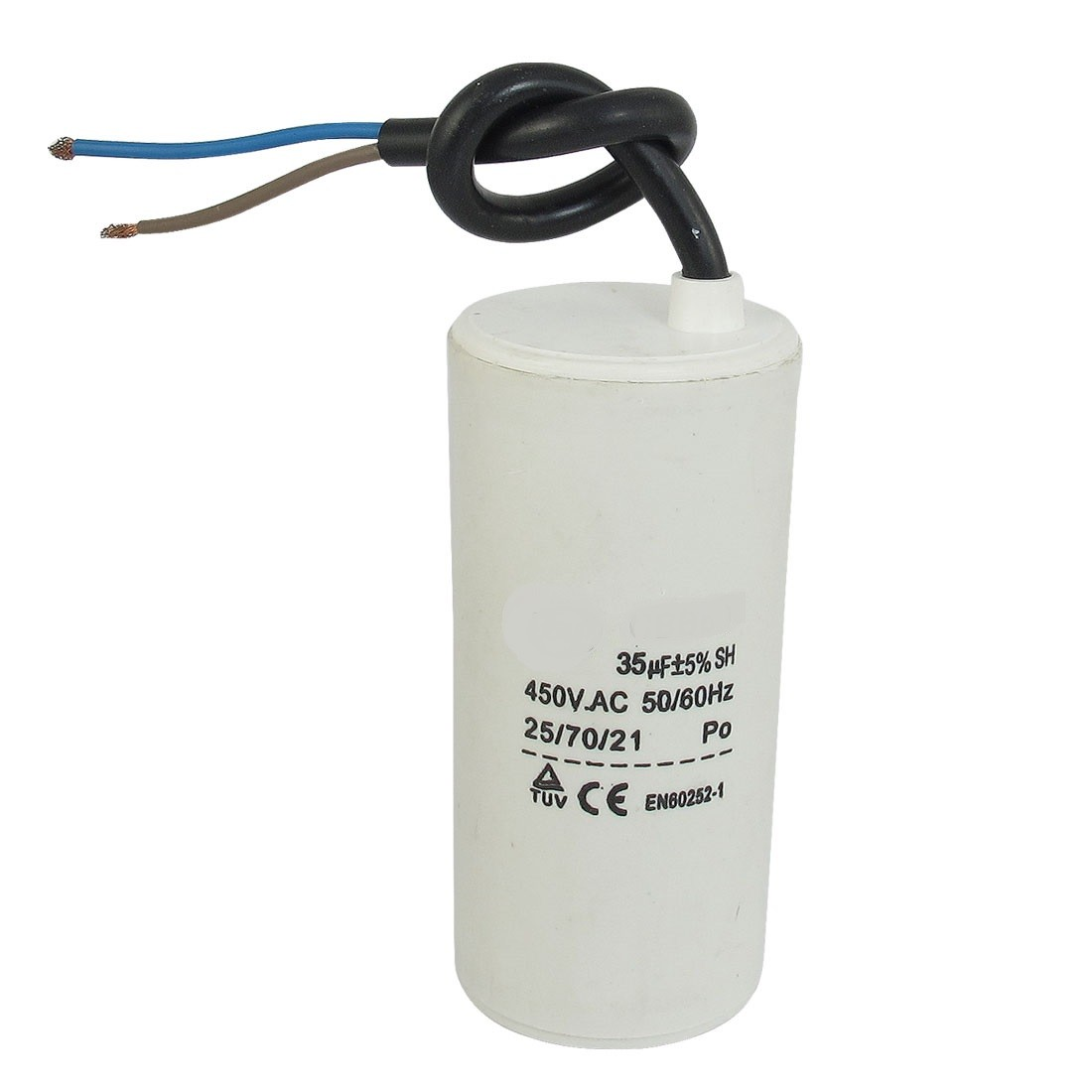 Motor run capacitor 30 µF 50x106mm 450Vac 5%  85°C