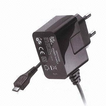 5V 1A mini USB voeding met mini USB kabel