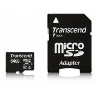 Transcend Micro SDXC geheugenkaart 64GB klasse 10