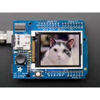 "Adafruit 1,8"" color TFT shield w/microSD and joystick"