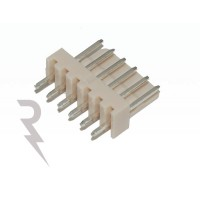 6-polige rechte header - Mannelijk - Stap: 2,54mm