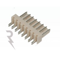 8-polige rechte header - Mannelijk - Stap: 2,54mm
