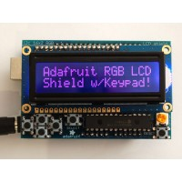 RGB LCD Shield Kit w/ 16x2 character display - only 2 pin used
