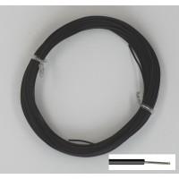 Stijve Montagedraad 10m zwart