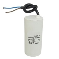 Motor run capacitor 1.0 µF 30 x 50mm 450Vac 5%  85°C