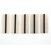 Extra lange afbreekbare vergulde contacten 16 pins Mannelijk - mannelijk 5 pcs