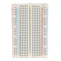 Soldeerloos breadboard met 400 ronde gaten - wit