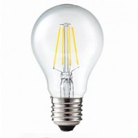 LED filament lamp E27 6W warm wit (vervangt 60W)
