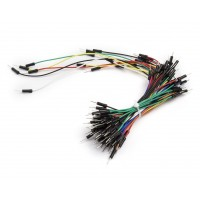 Breadboarding wire bundle 70 wires in mixed colours