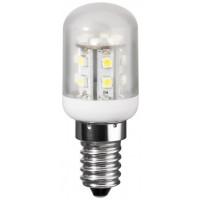 LED koelkastlamp 1,2Watt 80lm E14 230V 2700K warm wit