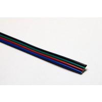RGB kabel voor ledstrip 4x0,25mm² 100m