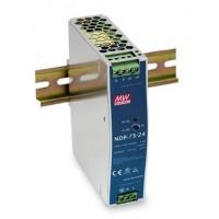 Industriële voeding voor DIN-RAIL Meanwell 24V 75W