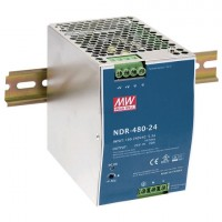 Industriële voeding voor DIN-RAIL Meanwell 24V 480W