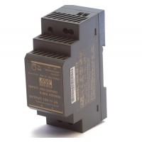 |Direct te monteren op DIN-rail |Overload protection, current limiting, auto recovery |Protections: short circuit/over load/over voltage |Low no load power consumption |Power-on LED display |Insulation Class II |Input Voltage:  85...264V AC (47...63Hz)  1