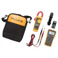 Set met FLUKE-117 digitale multimeter en FLUKE-323 stroomtang
