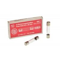 Zekering 6,3x32mm 800mA Snel - 230V 10pcs.