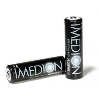 Herlaadbare AA-batterijen - 1,2V 2400mAh - NiMH - 4 stuks - Imedion