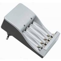 Universele batterijlader voor AA en AAA batterijen