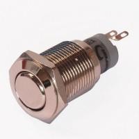 Enkelpolige drukknop ON-(ON) 1A/24VDC 0,5A/ 230VAC