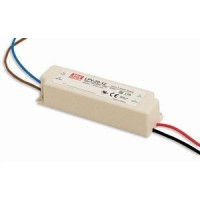 Industriële LED voeding IP67 - Meanwell - 24V 20W