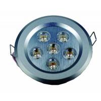 6x1W Ledlamp - 105mm - Warm wit - 230V AC