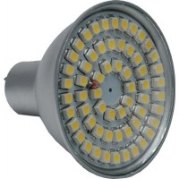 Led lamp MR16 - 60 SMD LEDs -Warm wit - 12V