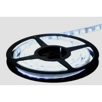 Waterdichte ledstrip - Wit - 300 type 5050 leds - 24VDC - Ultra bright