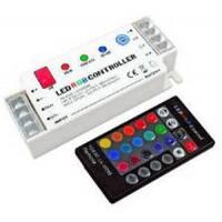 RGB-controller met afstandsbediening - 12/24VDC - 5A/kanaal