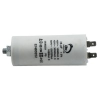 Motor run capacitor 25 µF 40x95mm 450Vac 5%  85°C