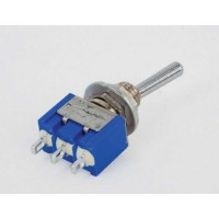 MS-500A Toggle Switch Enkelpolig ON-ON 6A - 125V / 3A - 250V