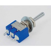MS-500C Toggle Switch Enkelp. ON-OFF-ON 6A-125V/3A-250V