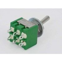 MS-550F Toggle Switch Dubbelp. ON-ON 3A-125V/1A-250V