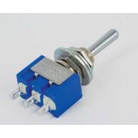 MS-500D Toggle Switch Enkelpolig (ON)-OFF-ON 6A-125V/3A-250V
