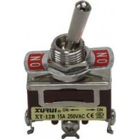 Toggle Switch Enkelpolig ON-ON 15A - 250V  TS-002