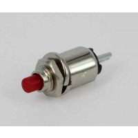 MS-402R Miniatuur Drukknop (ON)-OFF NO Rood 0,5A/125VAC