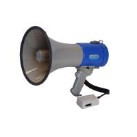 Megafoon met sirene - 25 Watt