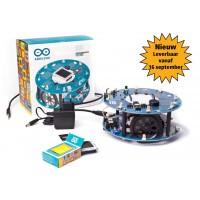 De eerste officiële robot van Arduino op wielen.
