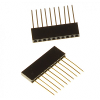 Connectorrij 1 x 8 pin male female - 2 stuks - P2.54