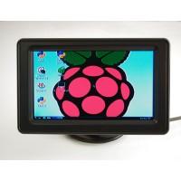 """NTSC/PAL (television) TFT display 4,3"""" Diagonal"""