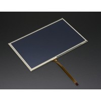 "Resistive Touchscreen Overlay - 7"" diagonal 165mm x 105mm - 4 wire"