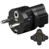 US Jack to CEE 7/4 plug